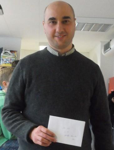 Artur Kevorkov - både dags- opg samlet vinder af SGP-serien 2014-15