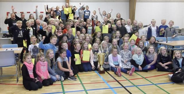 Glade vindere fra Skærbæk Distriktsskole